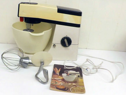 Charity Vintage: Kenwood Chef mixer - H is for Home Harbinger