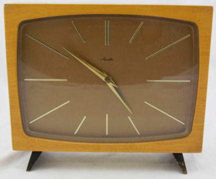 vintage Mauthe mantle clock for sale on eBay for Charity by & on behalf of British Heart Foundation