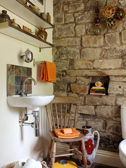 H is for Home's downstairs cloakroom