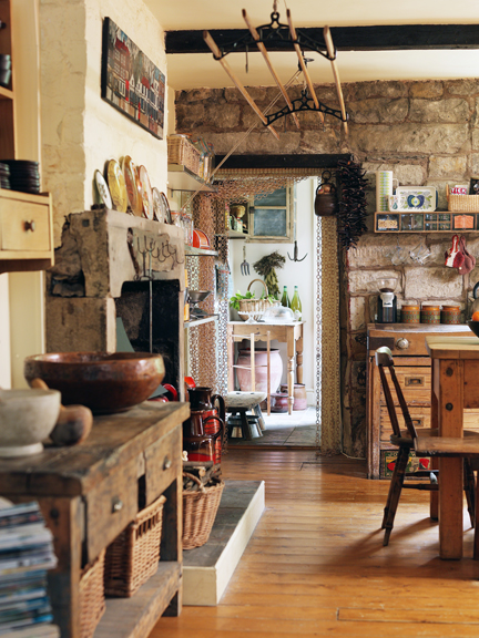 H is for Home's larder area