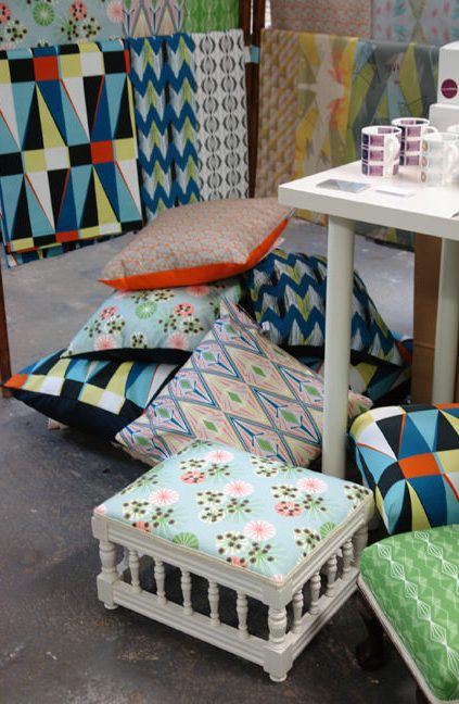 Annabel Perrin at the Independent Interiors Show, Manchester