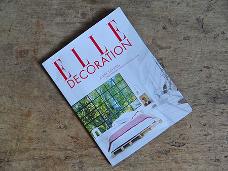 Elle Decoration magazine cover