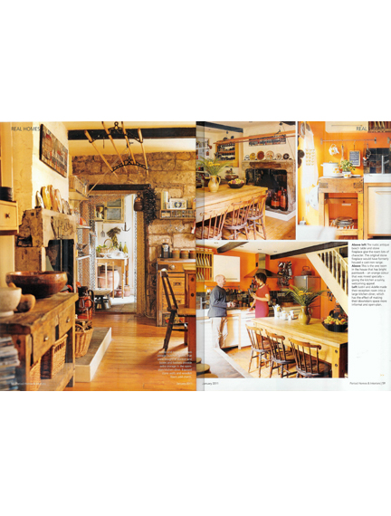 January 2011 Period Homes & Interiors magazine cutting