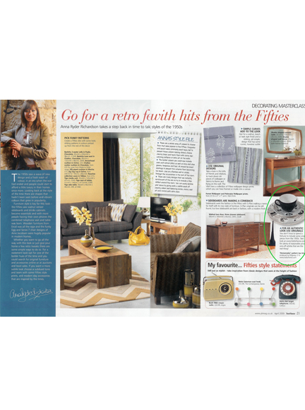 April 2009 Your Home Magazine cutting