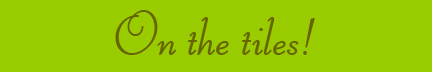 """On the Tiles"" blog post banner"