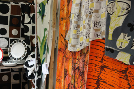 large selection of vintage fabric for sale