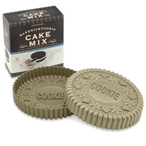 sandwich 'cookie' cake tin available exclusively through Williams-Sonoma