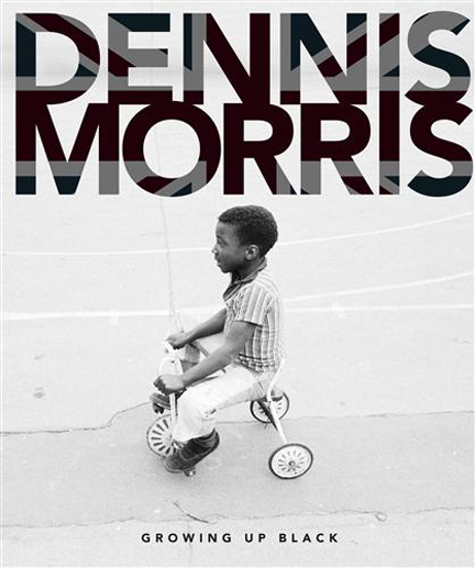 "Cover of Dennis Morris' limited edition book, ""Growing Up Black"""