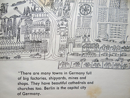 line drawing of Berlin