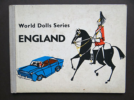 World Dolls Series, England vintage children's book | H is for Home