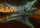 Christmas Lights Reflecting