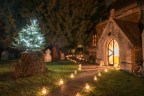 St Andrews Church at Christmas