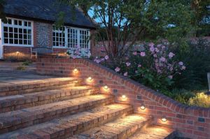 In-built LED outdoor domestic lighting project