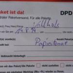 papel DPD-pie toneladas