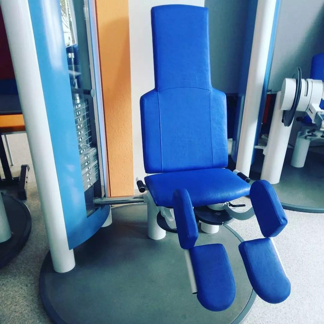 Kleine Anekdote aus dem Physio-Gym 🏋️💪🏻 Seit meinem Kreuzbandriss trainiere…