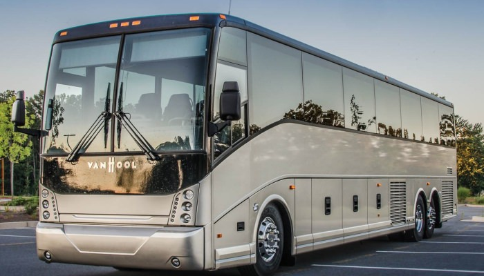 2014 Charter Bus Service