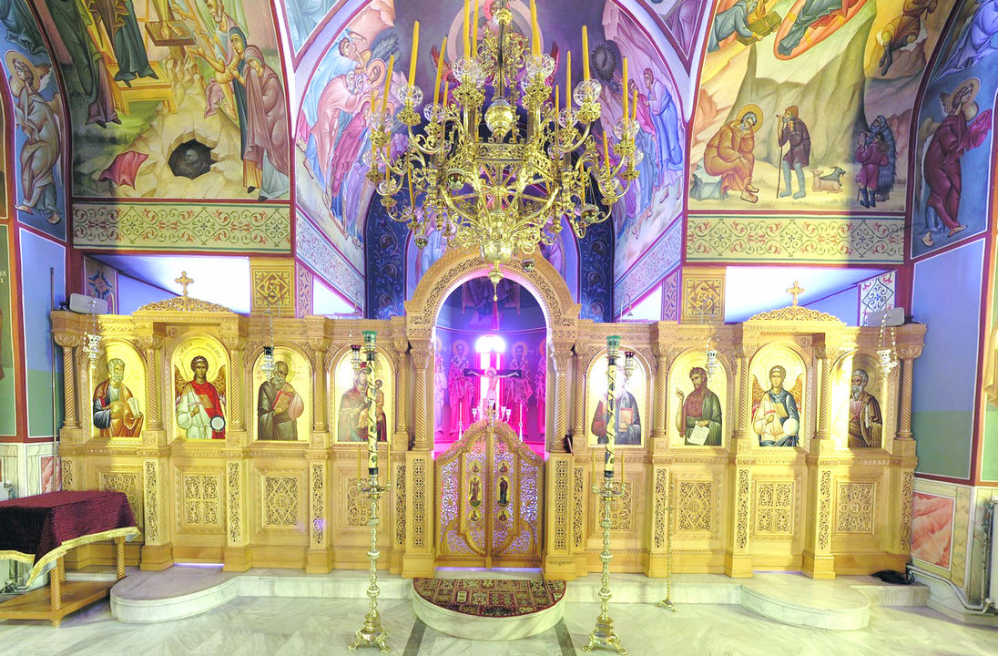 Monastery of St  John the Theologian, Patmos, Greece