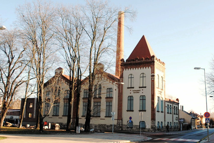タトラギャラリー、ポプラト、スロバキア   HiSoUR 芸術 文化 美術 歴史
