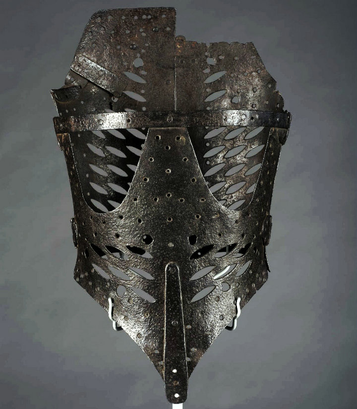 A seventeenth century Iron Stays Corset York Castle Museums