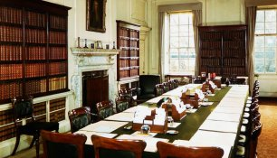 Historic rooms of 10 Downing Street