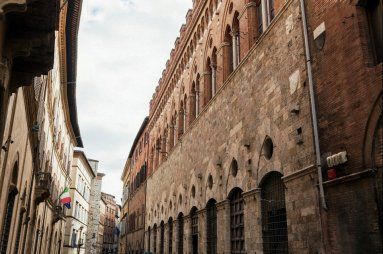 Historical Palazzi in Siena Italian Youth Committee UNESCO