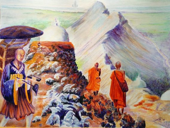 Xuanzang's footsteps in Bihar Xuanzang Memorial