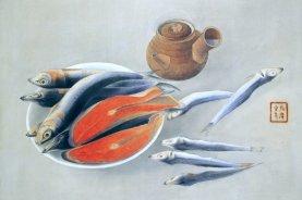 Animal theme of Japanese painting