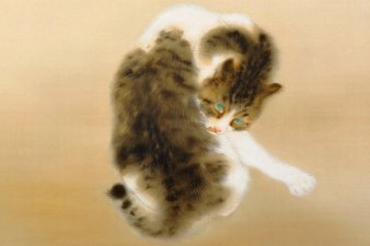 Animals with Japanese paintings, Yamatane Museum of Art