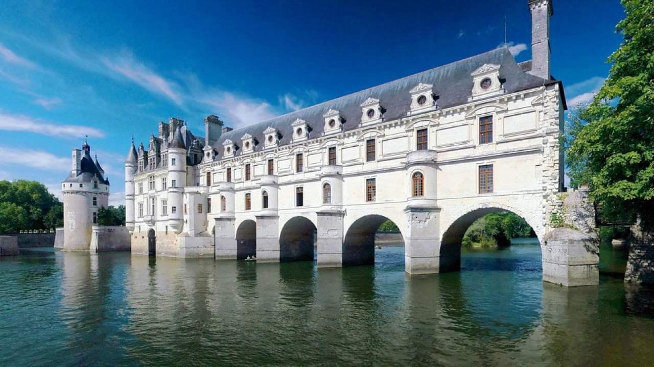 Schloss Von Chenonceau Chenonceaux Frankreich Hisour Kunst Kultur Ausstellung