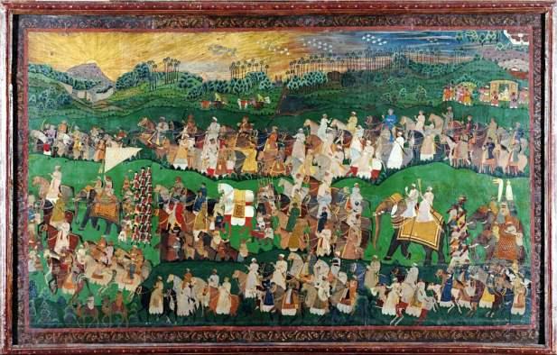 Indian Miniature Paintings, Salar Jung Museum