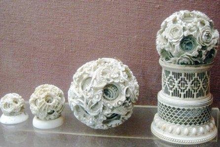 Ivory Carvings Gallery, Salar Jung Museum