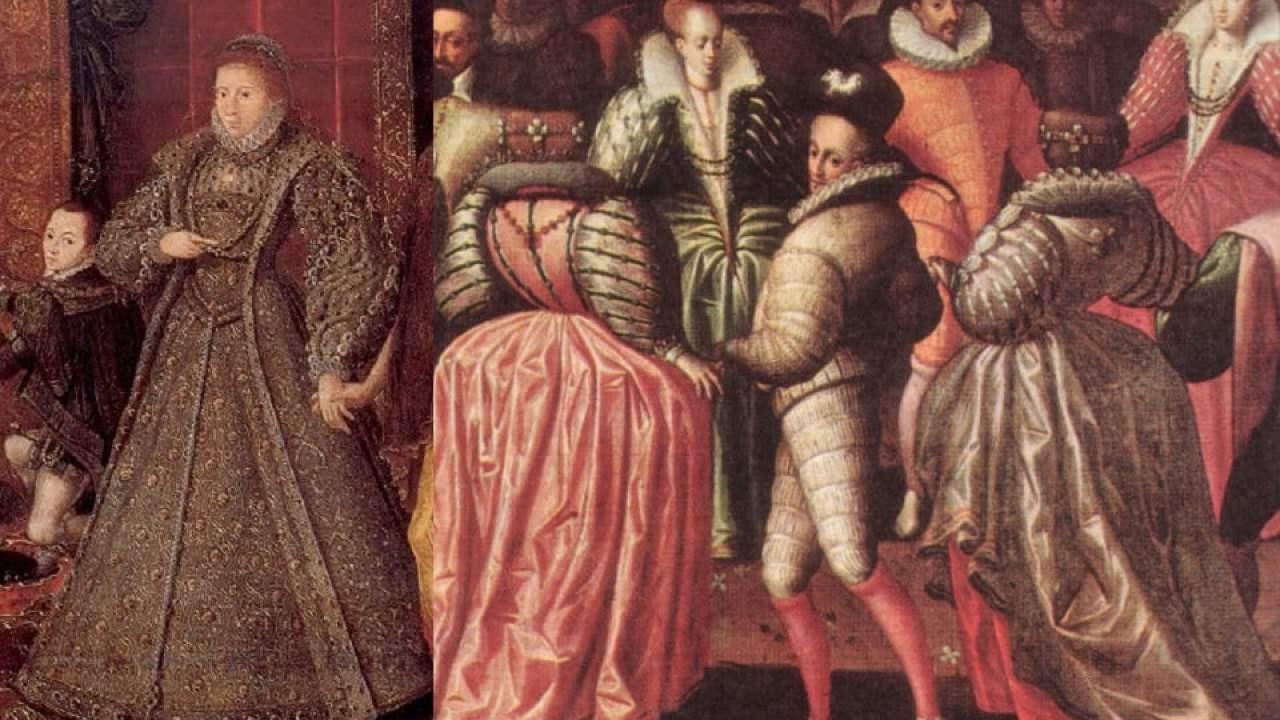 أزياء المرأة في أوروبا الغربية في 1580-1600 | HiSoUR والفن تاريخ معلومات  السفر