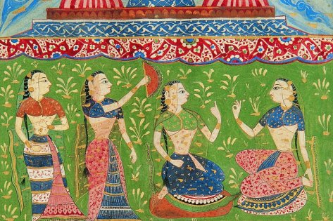 Textile gallery, Museum of king Shivaji, India