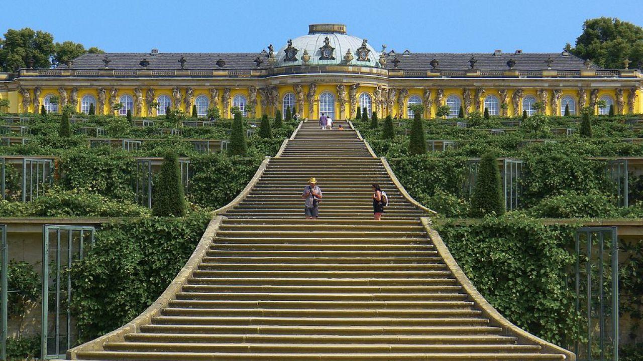 Palais de Sanssouci, Potsdam, Allemagne   HiSoUR Art Culture Histoire