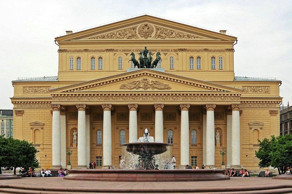 बोल्शोई थिएटर, मॉस्को, रूस | HiSoUR कला संस्कृति का इतिहास