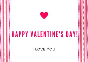 12 Free Valentines Day printable cards  Hispana Global