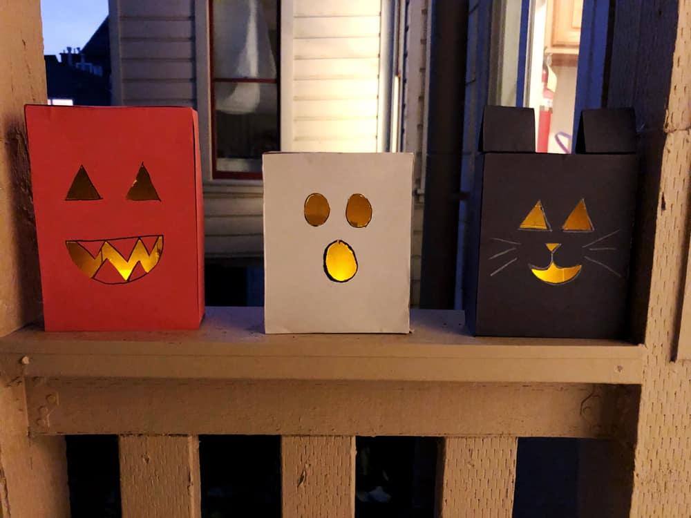 Halloween Luminarias