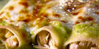 Chicken Enchiladas with Tomatillo Sauce GOYA Foods
