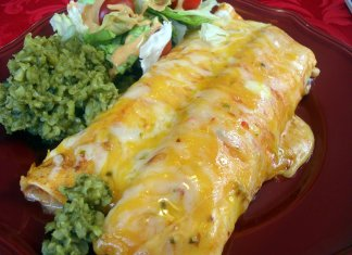 Creamy Chicken Enchilada Recipe