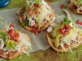 Mexican Chicken Tostadas