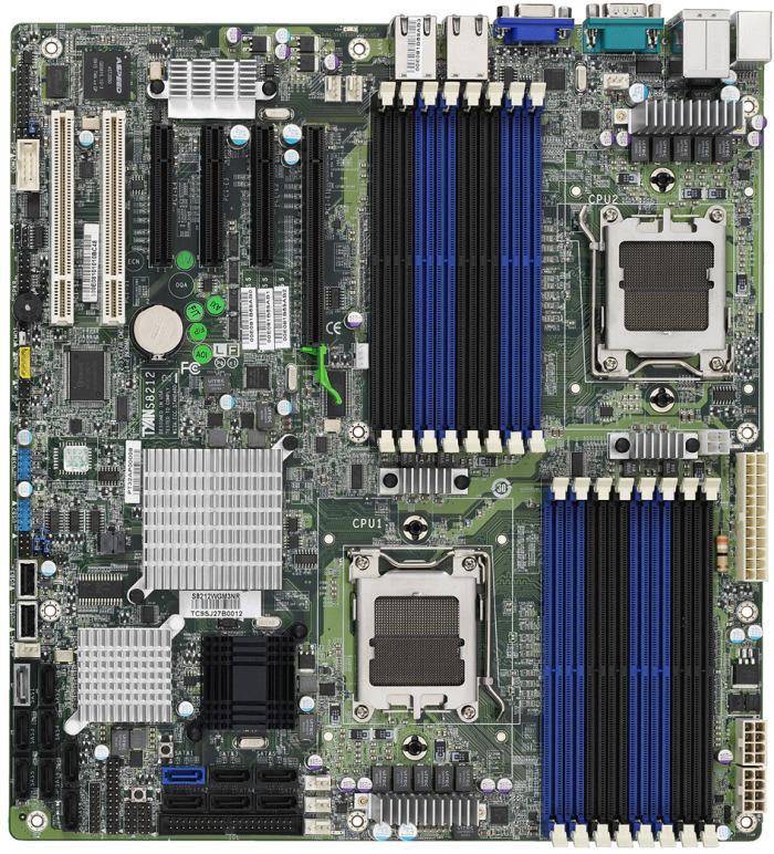 La  plataforma profesional de seis núcleos de AMD ya tiene forma.