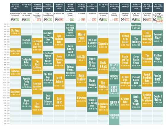 Bragg_Jam_lineup_schedule