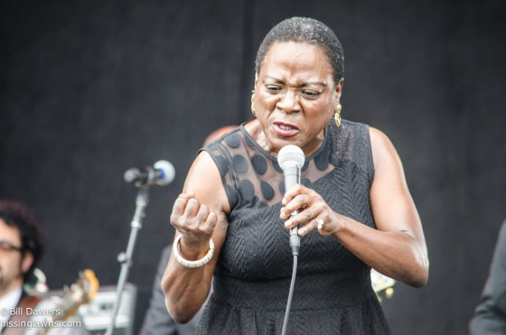 Sharon Jones & The Dap-Kings at Forecastle Festival 2014