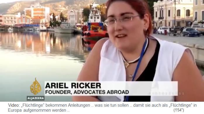 Resultado de imagen de advocates abroad ariel ricker