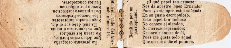 Publicidad antigua de papel de fumar ..