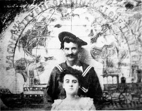Gus et Maud Wagner