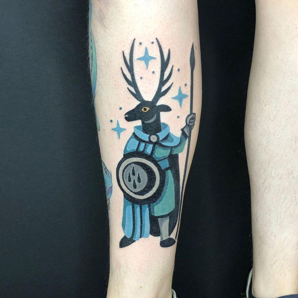 Bård Tjelta tatouage