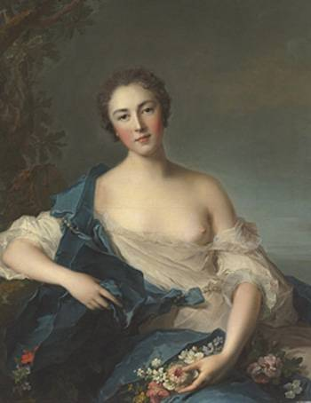 La comtesse de Vintimille par Jean-Marc Nattier, 1740