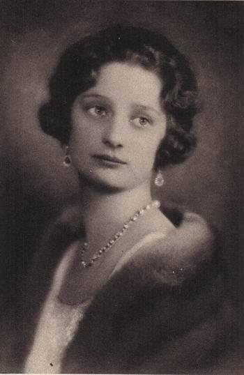 Astrid de Suède, peu après son mariage, en 1926