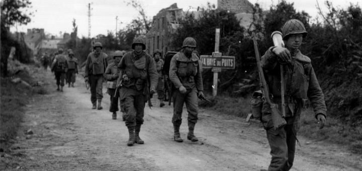 ETE 1944 LIBERATION DE LA BRETAGNE POCHE DE FALAISE BATAILLES n° 4